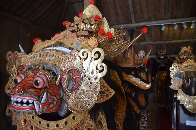 Musée des marionnettes et des masques près d'Ubud - © D. Raynal