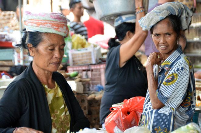 Sur un marché balinais - © D. Raynal