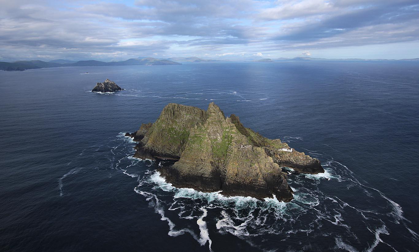 L'île de Skellig Mickael, patrimoine mondial de l'UNESCO - © Tourisme Irlandais