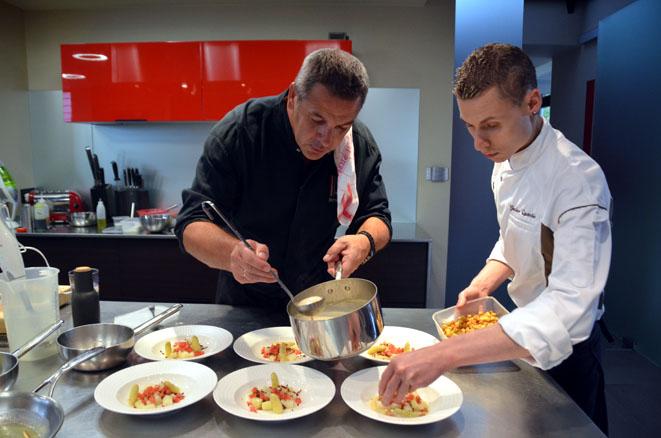 Pierre Résimont, restaurant l'Eau vive, deux étoiles au guide Michelin - © D. Raynal