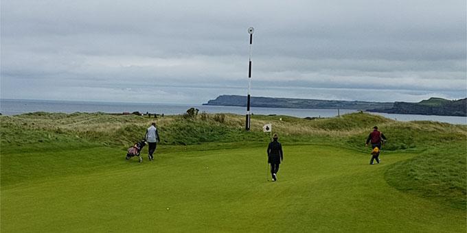 Royal Portrush Golf Club Théatre du prochain British Open - © T. Plassais - Swing-feminin.com