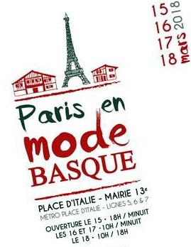 Paris en mode basque