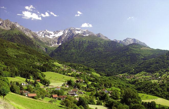 Paysage des Alpes - © Auvergne-Rhône-Alpes Tourisme