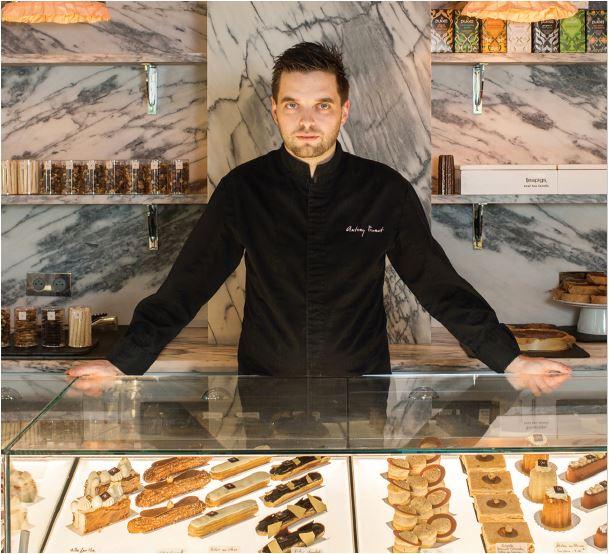 Antony Prunet Chef pâtissier - La Pâtisserie de Famille de l'hôtel Ha(a)ïtza