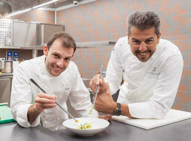 Raffaele Lenzi et Andrea Berton © Sereno