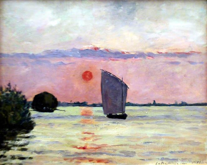 La Martiniere le soir - M.Maufra 1891 - Huile sur toile - cp1© collection privée