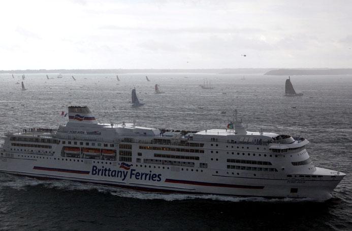 Le Pont-Aven, navire amiral de la Brittany Ferries - © Alexis Courcoux