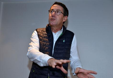 Jean-Marc Roué, Président du conseil de surveillance de Brittany Ferries - © David Raynal