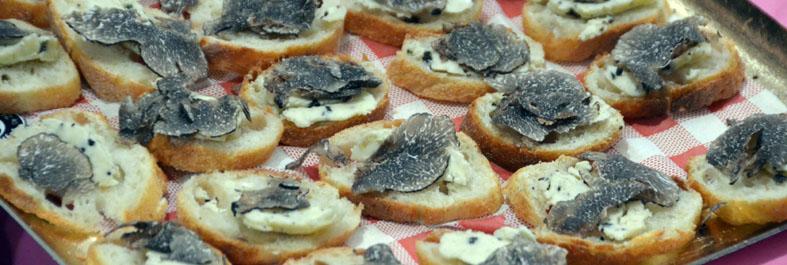 Beurre de truffe façon Francis Delpey.© D. Raynal
