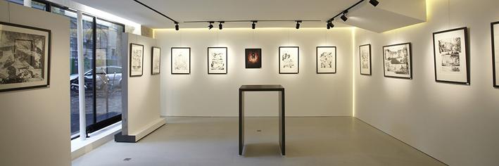 Galerie Glénat à Paris - © DR
