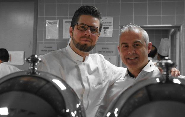 Grégoire Berger et Sébastien Bontour - © D. Marché