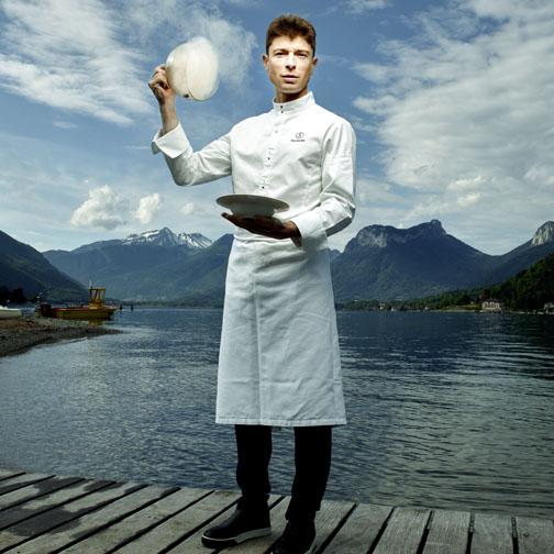 Le chef Jean Sulpice - © D. Rouvre