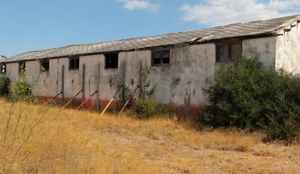 Autour des baraquements en ruine, les visiteurs tentent souvent simplement de comprendre.- © DR