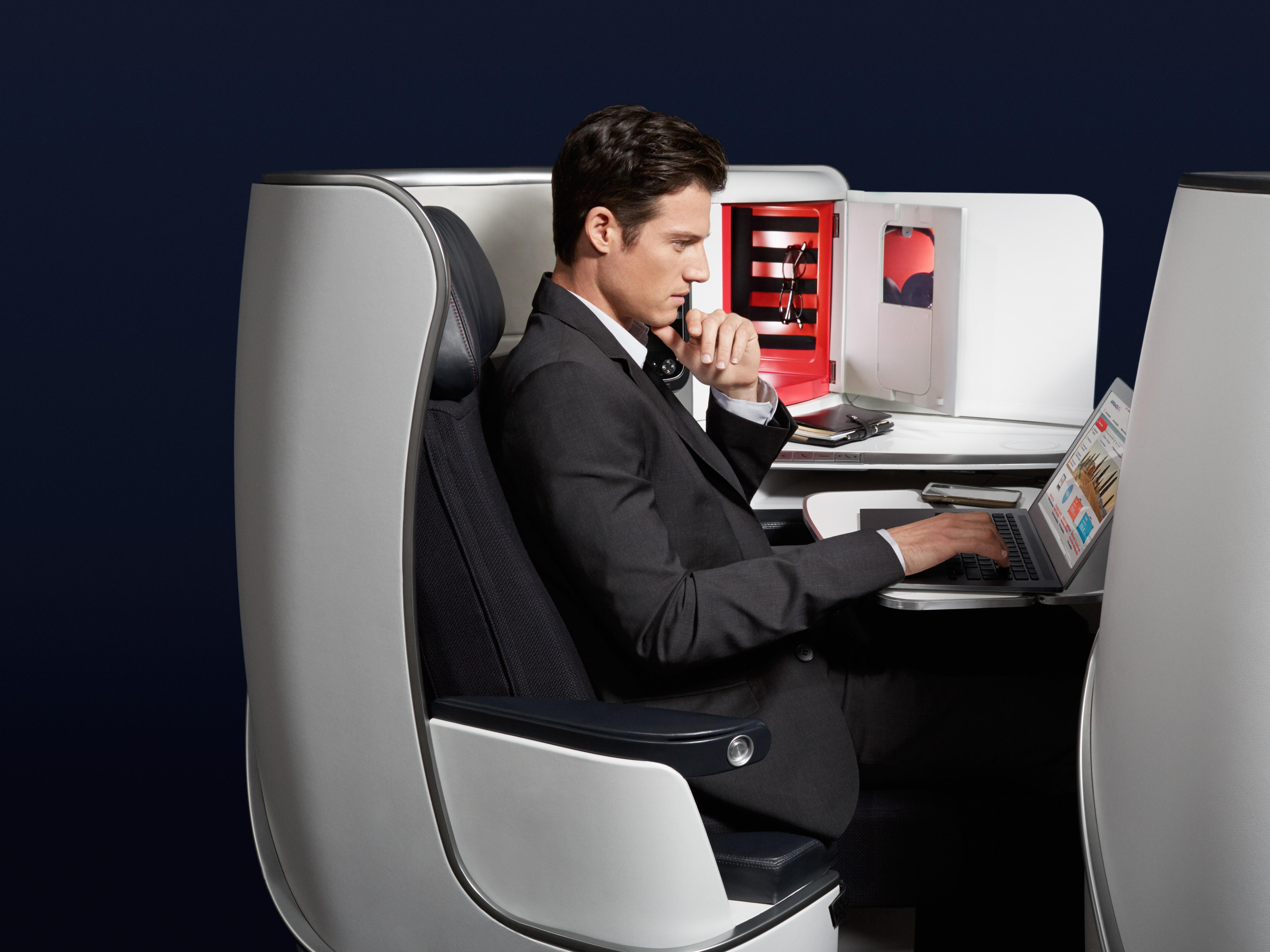 Nouvelle cabine Business Air France sur certains de nos vols intercontinentaux - © Air France
