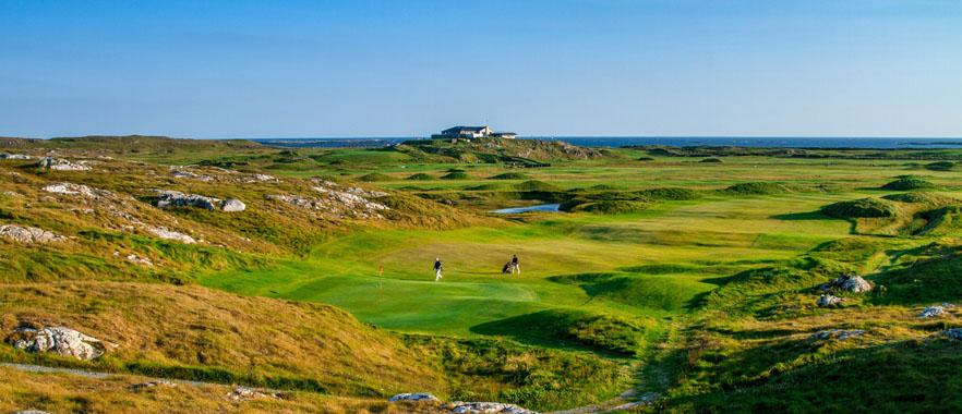Golf en Irlande - © DR