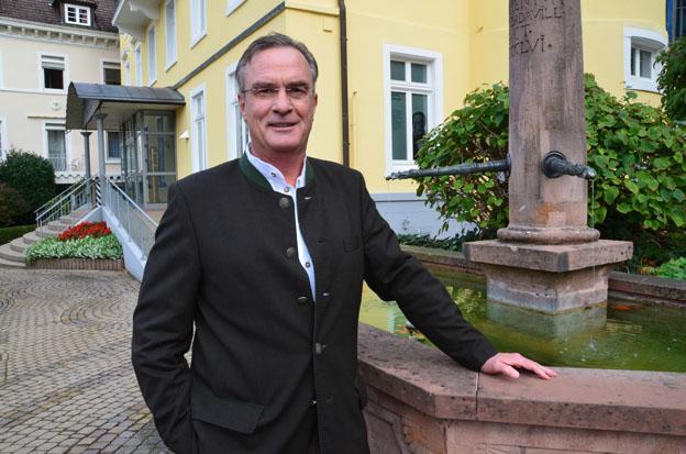 Karl-Eugen Engler maire de Badenweiler - © D. Raynal