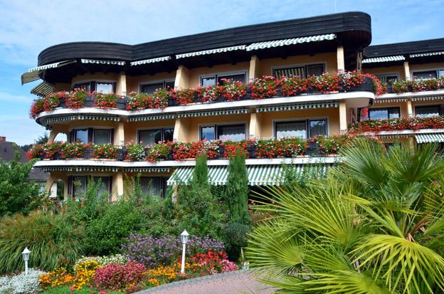 L'hôtel Schwarzmatt Relais & Châteaux.- © D. Raynal