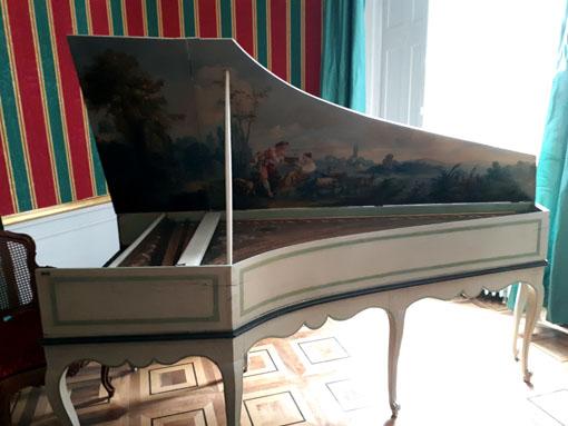 Piano de Voltaire - © H. Gouleret