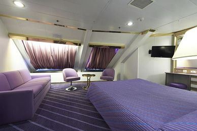 Cabine - © Corsica Ferries