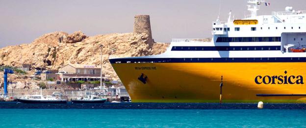 L'Île Rousse - © Corsica Ferries