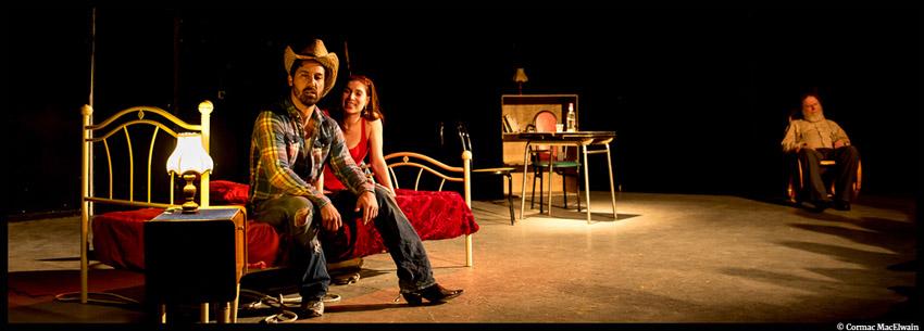 Fool For Love - Eddie (Olivier Raynal) et May (Julie Zeno) -  © Cormac Mac Elwain