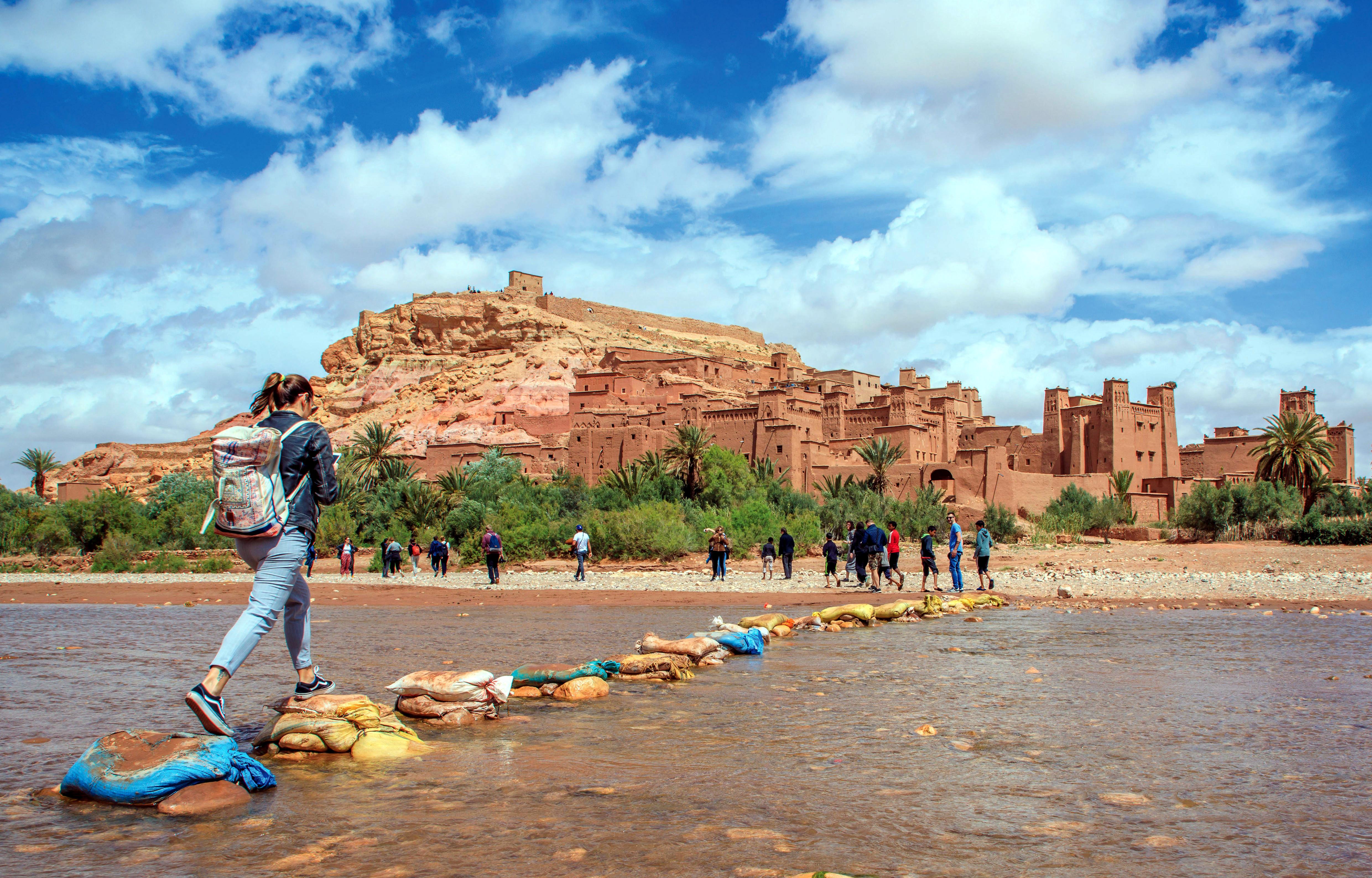 Ksar d'Ait Ben Haddou patrimoine de  l'UNESCO depuis 1987 - © CPT Ouarzazate