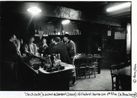 Bistrot de Sardent où Claude Chabrol a tourné son premier film - © Pierre Josse
