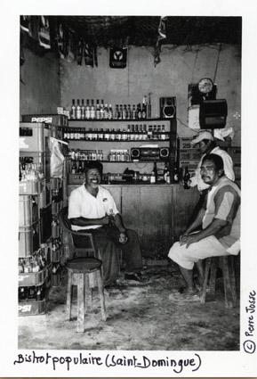 Bistrot populaire à Saint-Domingue - © Pierre Josse
