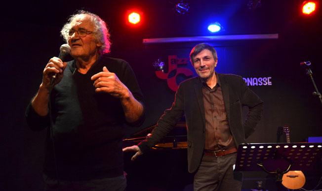 "Pierre Josse et Pierrick Bourgault au ""Jazz Café Montparnasse"" - © David Raynal"