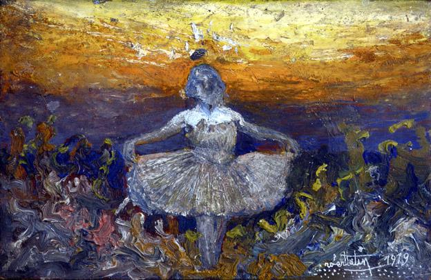 Christiane, huile sur bois, 1919 - © Musée Robert Tatin