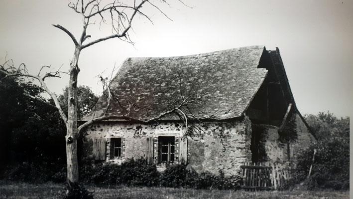 La Maison des Champs à son achat en 1962 - © Musée Robert Tatin