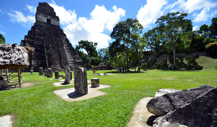 Le site Maya de Tikal au Guatemala - © David Raynal