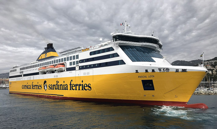 Les liaisons Continent-Corse sont maintenues 7 fois par semaine (avec le port de Toulon),© Corsica Ferries