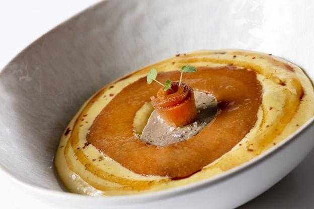 Foie gras - Menu du Palais - © Restaurant Sevin