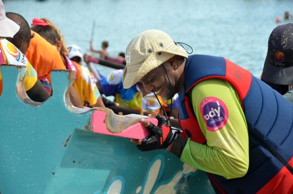 Les Martiniquais ont longtemps tourné le dos à la mer, symbole sinistre à leurs yeux de l'arrivée des bateaux négriers @ David Raynal