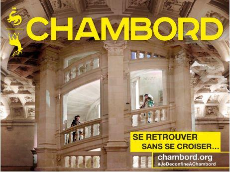 Le château de Chambord ouvre le 5 juin