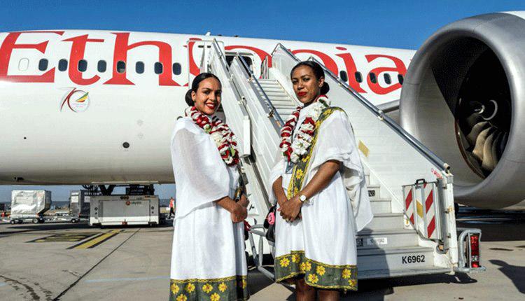 Les hôtesses de la plus grande compagnie aérienne d'Afrique @ D.R.