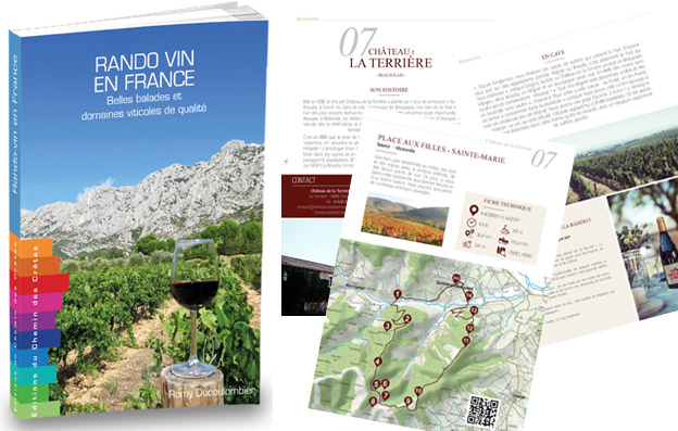 "Nouveau guide ""Rando-Vin en France"""