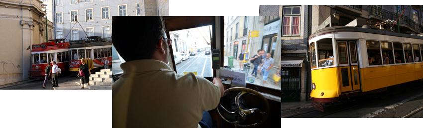 Tramways de Lisbonne - © David Raynal