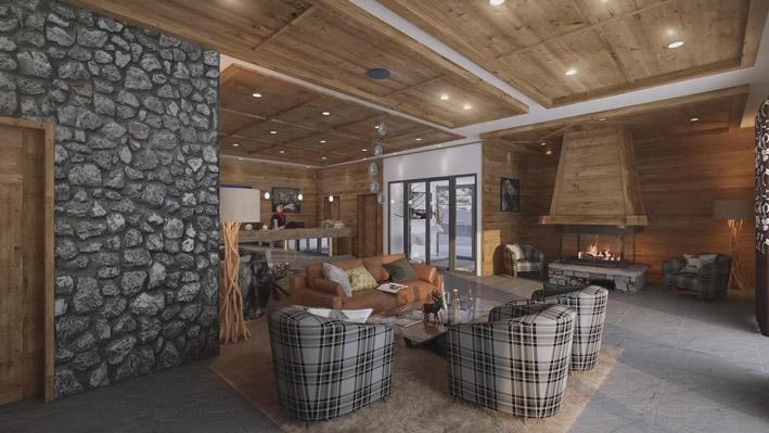 Perchée à 1850m d'altitude, à quelques minutes de l'Italie, La Rosière est considérée comme un joyau de la Haute Tarentaise.Alpen Lodge - © MGM