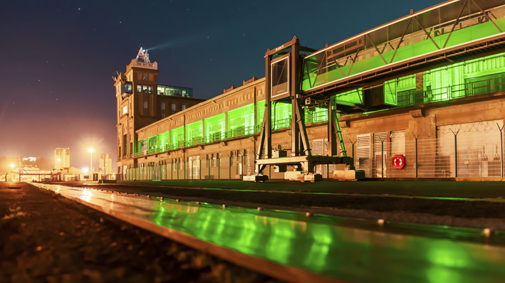 Gare transatlantique de Cherbourg - © M2Event