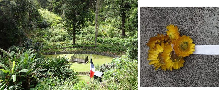 La tombe de Napoléon est située dans la Sane Valley, une vallée verdoyante dans laquelle il aimait se promener - © Droits réservés