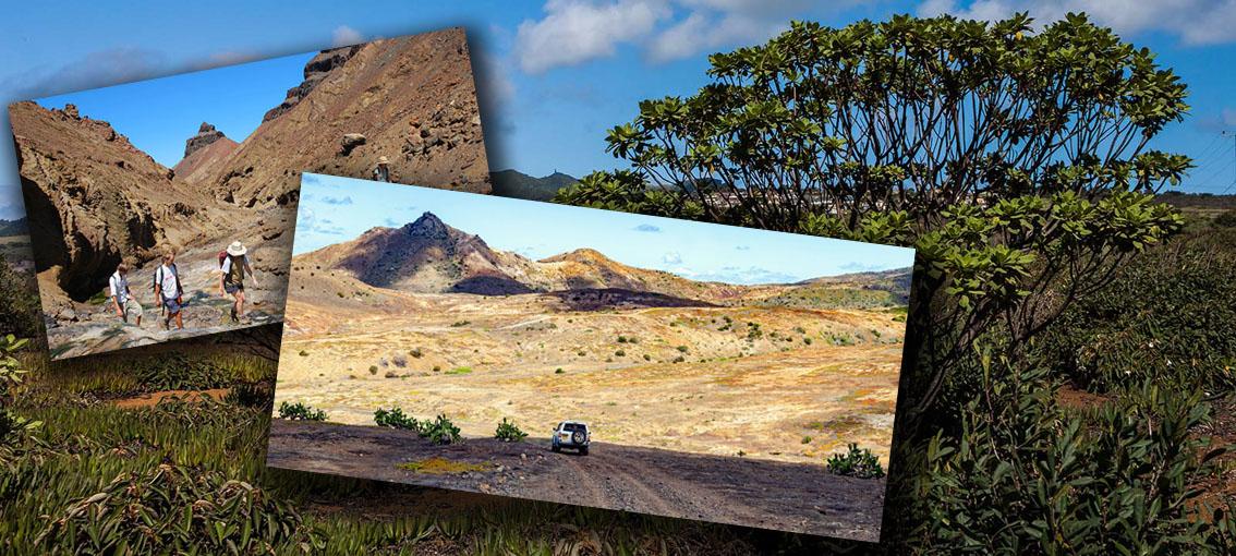 Eden subtropical, l'île de Sainte-Hélène est aussi une terre très spectaculaire en termes de contraste - © Droits réservés