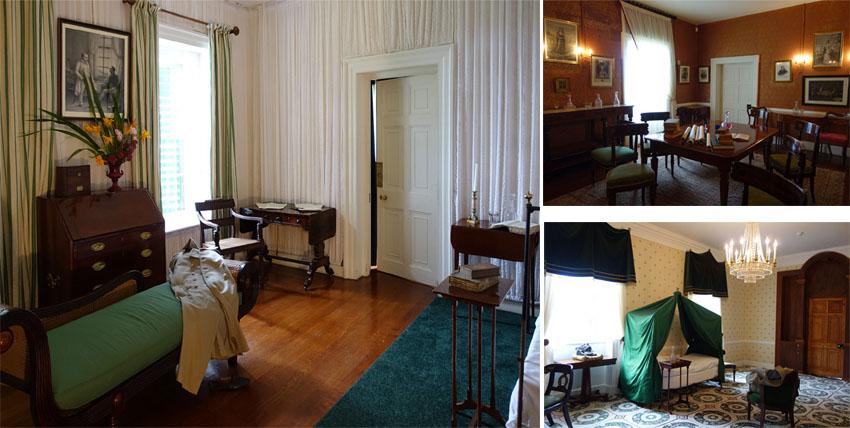 Longwood deviendra, avec les autres sites napoléoniens de Sainte-Hélène, la propriété du gouvernement français en 1858 - © Droits réservés