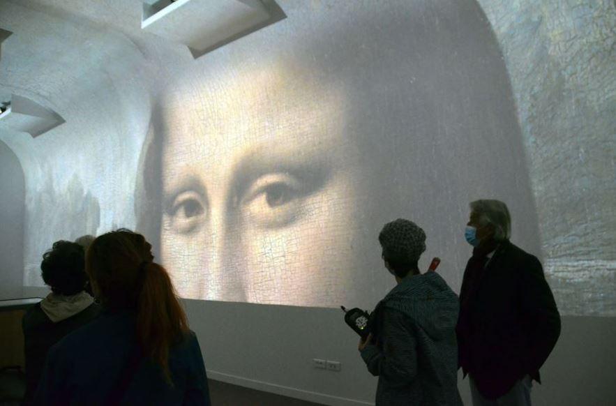 Les nouvelles galeries numériques du Clos Lucé @ David Raynal.