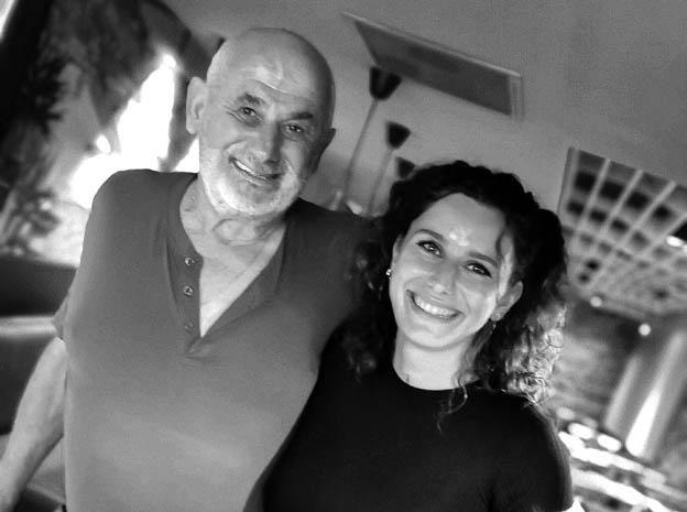 """Marc Dandré chef du """"Da Marco"""" avec sa fille - © Dominique Marché"""