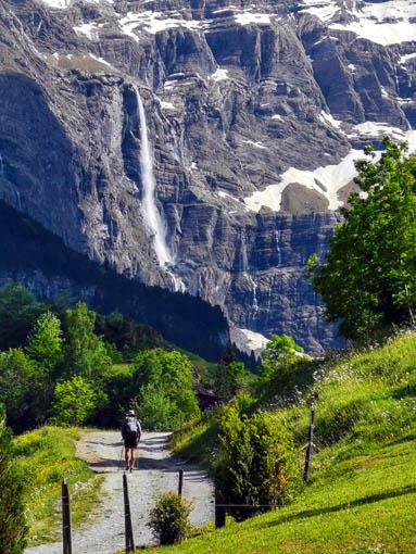 La Grande cascade, source du Gave de Pau -  © Dominique Marché