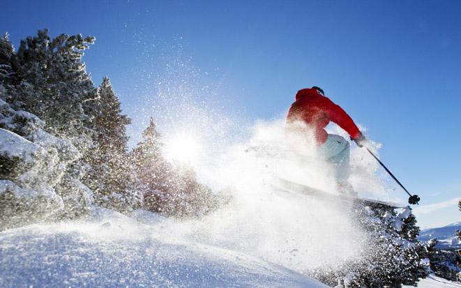 Ski alpin Lans en Vercors -  © T. Durand