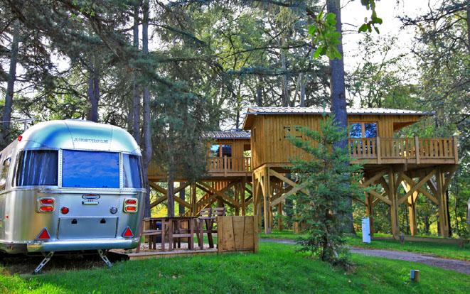 Caravane air-stream - Albirondack-park - © camping-and-co.com