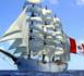 L'Union, emblématique quatre-mâts du Pérou en escale au Havre
